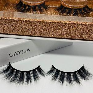 3D Premium Mink Eyelashes - Layla